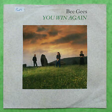 Bee Gees - You Win Again / Backtafunk - Warner Brothers W8351 Ex Condition