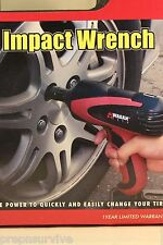 12V MIGHTY AUTO IMPACT WRENCH, REPLACE TIRES WITH EASE, 271FT LB TORQUE 4 SOCKET