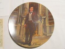 """""""Rhett"""" , Gone With The Wind , Collector Plate , Orig Box & Coa . Knowles"""