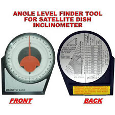 "4 1/8"" ANGLE LEVEL FINDER TOOL FOR SATELLITE DISH INCLINOMETER"