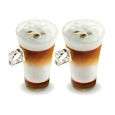 Set of 2 Nescafé Dolce Gusto Latte Cappuccino Espresso Tea Hot Drink Cup Glass