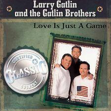 FREE US SH (int'l sh=$0-$3) NEW CD Larry Gatline and the Gatlin Bro: Love Is Jus