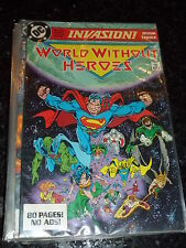 INVASION! Comic - Book 3 ( of 3 ) - Date 1988 - DC Comic
