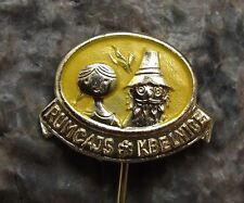 Antique Rumcajs Kbelnice Czech Classic Childrens Cartoon Character Pin Badge
