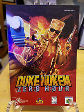 Duke Nukem: Zero Hour - Replacement MANUAL only - Great Condition n64 Game
