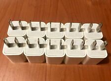 10X Genuine OEM USB Wall Charger Apple A1385 Charging Cube Adapter New iphone