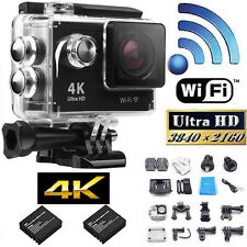 4K Sport Action Camera Wifi Wireless SJ4000 DV Full HD 1080P With Part for Gopro