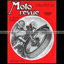 MOTO REVUE N°1329-c ADLER GIMA 250 GUILLER 175 TECHNIQUE SPECIAL PNEUS 1957