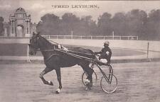 A8219) FAENZA 1911, CORSE AL TROTTO CAMPIONATO EUROPEO, FRED LEYBURN.