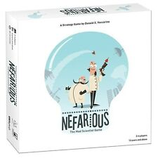 USAopoly Games: Nefarious board game (New)