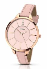 Sekonda Ladies Editions Watch Stone Set Pink Dial and Thin Pink Strap 2305