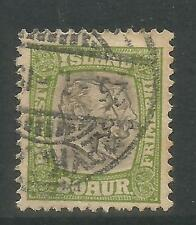 Iceland 1907-08 2 Kings 20a yl gr & gray Official--Attractive Topical (O37) used