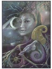 PAGAN WICCAN GREETING CARDS Ancient Inanna WENDY ANDREW Goddess CELTIC Birthday