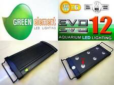 "Beamswork aquarium high EVO 12 3W x 6 LED light lamp 30-45cm 11""-17"" coral reef"