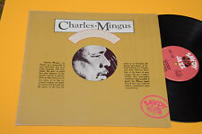 CHARLES MINGUS LP JAZZ WORKSHOP ITALY 1977 TOP EX++