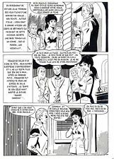 RENAUD (DESSINATEUR JESSICA BLANDY) PLANCHE ORIGINALE LA LOUVE PAGE 124