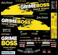 JIM DUNN GRIME BOSS Dodge 2013 NHRA 1/24th - 1/25th Scale Decals