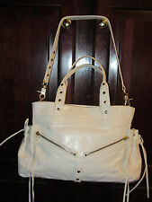 BOTKIER TRIGGER WHITE LEATHER SATCHEL SHOULDER BAG