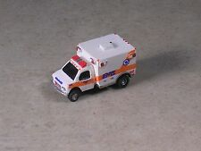 N Scale 2001 Orange Stripe Van Style Ambulance