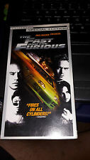 The Fast and the Furious (VHS, Special Edition Contains Bonus Footage)