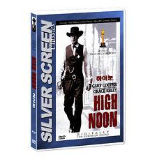 High Noon (1952) DVD - Fred Zinnemann, Gary Cooper (*New *Sealed *All Region)
