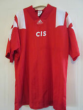 "CEI de 1991-1992, URSS Rusia Home Football Shirt Talla 44 "" -46"" / 39383"