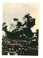 1932 China Photograph Battle of Shanghai January 28th Incident Hit Explosion