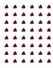 "48 LADYBUG ENVELOPE SEALS LABELS STICKERS 1.2"" ROUND"