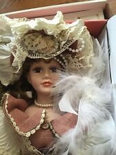 Porcelain Doll Granville House Collection NRFB #3290 w/papers