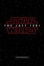 "Star Wars The Last Jedi Official Teaser 27"" X 40"" Double Sided Theater Poster"