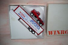 1983 WSBA Radio Card Winross Diecast Step Up Hood on Cab Delivery Trailer Truck