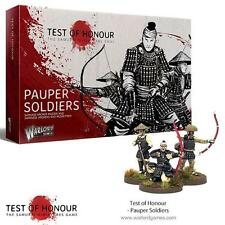PAUPER SOLDIERS - TEST OF HONOUR - WARLORD GAMES -