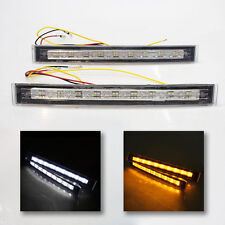 Front Fog Spot Lights Car Van Pickup+Indicators Led Drl For Ford Ka Focus Mondeo