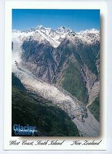 B2030cgt New Zealand Fox Glacier Country postcard
