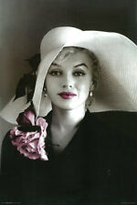 MARILYN MONROE IN HAT AND PINK LIPS POSTER - LARGE  24 x 36