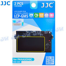 JJC LCD Guard Display Monitor Screen Protector Film For Panasonic LUMIX DMC-GM5
