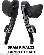 SRAM Rival 22 Shifters/ Brake Levers 11 Speed L&R PAIR DoubleTap fit Red Force22