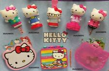 MCDONALDS 2015 HELLO KITTY SET OF 8 - NEW - FREE SHIPPING