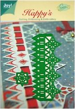Joy Crafts CUTTING EMBOSSING Stencil CHRISTMAS STAR RULER  6002-2009 Cut Emboss