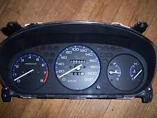 96-00 Honda Civic DX LX EX Si MT 106K Manual Instrument Gauge Cluster, USED