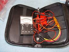 Micronta 22-027A Pocket Multimeter in Carry Pouch with Leads