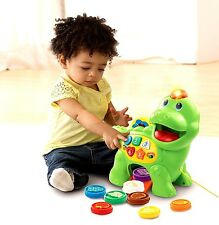 VTech Chomp & Count Dino Dinosaur Toy Kid Baby Toddler Child Play Learning GIFT