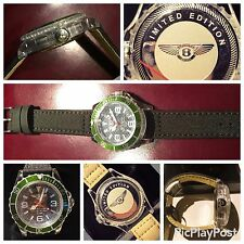 BENTLEY MILANO LIMITED EDITION  WATCH BY IKE  OROLOGIO UOMO MAN