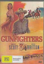 GUNFIGHTERS RANDOLPH SCOTT NEW ALL REGION DVD