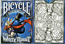 CARTE DA GIOCO BICYCLE THE WHITE RABBIT, limited edition,poker size