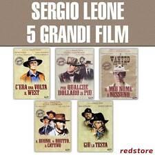 SERGIO LEONE Collection - 5 migliori film - Prodotti singoli DVD Italiani