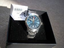 NWT vintage Swiss Army centinel 24561 shimering blue face  Victorinox watch