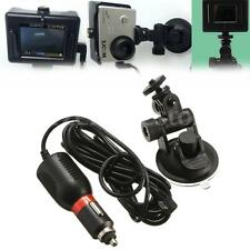 Suction Cup Windshield Mount Holder + Car Charger For GoPro SJ4000 SJ6000 Camera