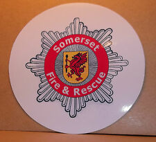 Somerset Fire and Rescue Service vinyl stickers