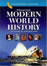 Modern World History Patterns of Interaction California by Beck
